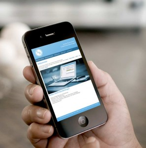 Responsive Website - Content Dienstleistungen