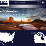 Startscreen America Unlilmited App