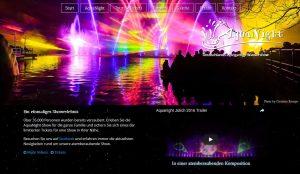 Webseite Aquanight